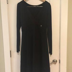 NWT Eddie Bauer W Black Dress Medium